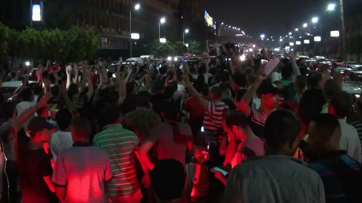 Egypt: Tear gas used at protest against President Fattah al-Sisi