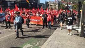 France: Thousands protest against Macron's pension reform