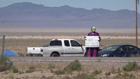USA: UFO hunters converge on Area 51