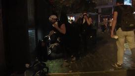 Francia: Policía usa gases lacrimógenos para despejar París de manifestaciones