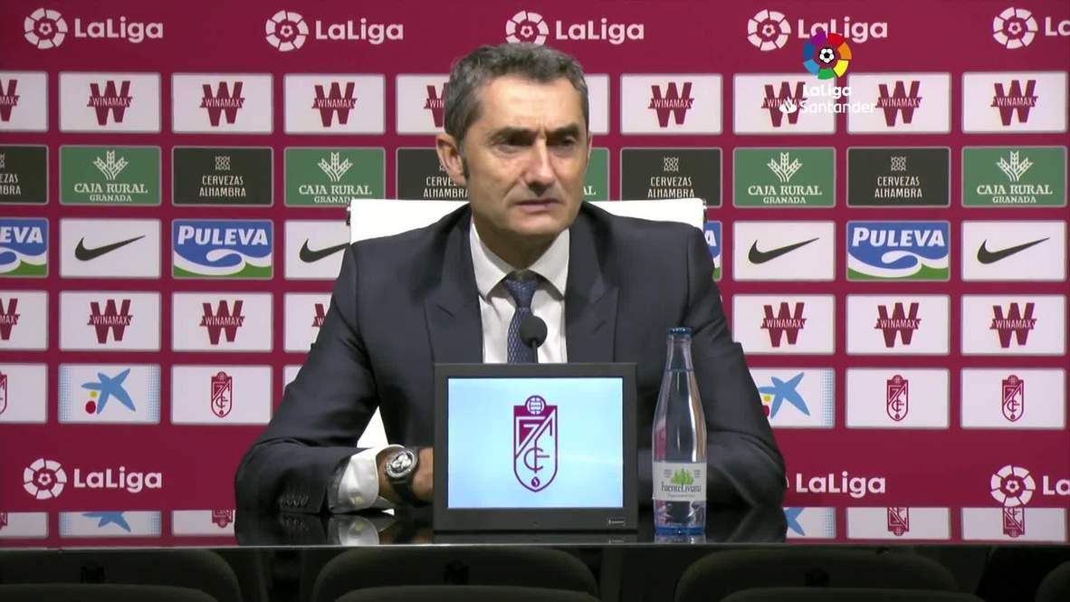 Spain: Barca deserved to lose against shock league leaders Granada - Valverde