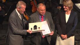 Alemania: Activista Rodrigo Mundaca recibe el Premio Internacional de DD.HH. de Nuremberg