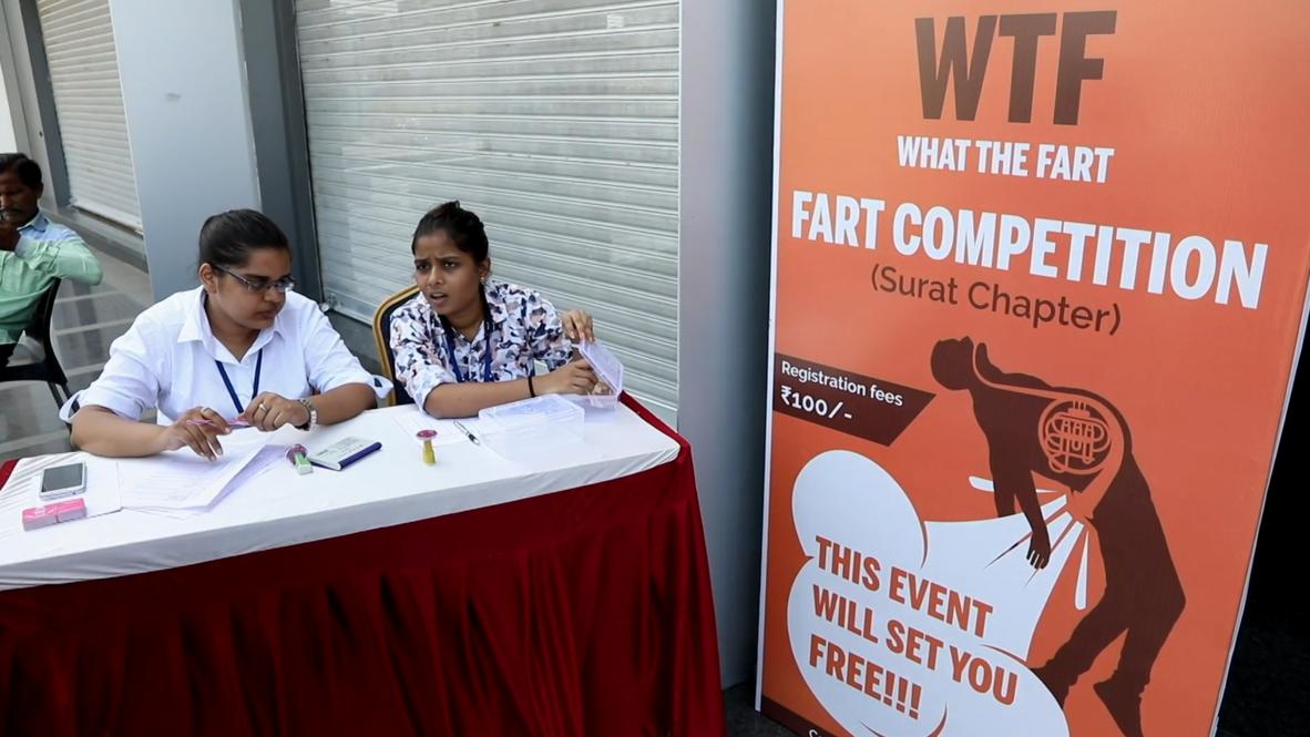 India: ¡Vaya pedo! Un polémico concurso de ventosidades termina en fracaso