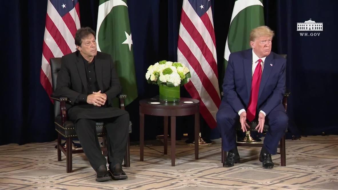 EE.UU.: Trump listo para mediar entre India y Pakistán en Cachemira si ambos países lo piden