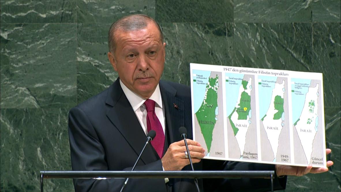 الأمم المتحدة: أردوغان يقول إن امتلاك الأسلحة النووية يجب أن يكون مسموحا للجميع أو ممنوعا للجميع