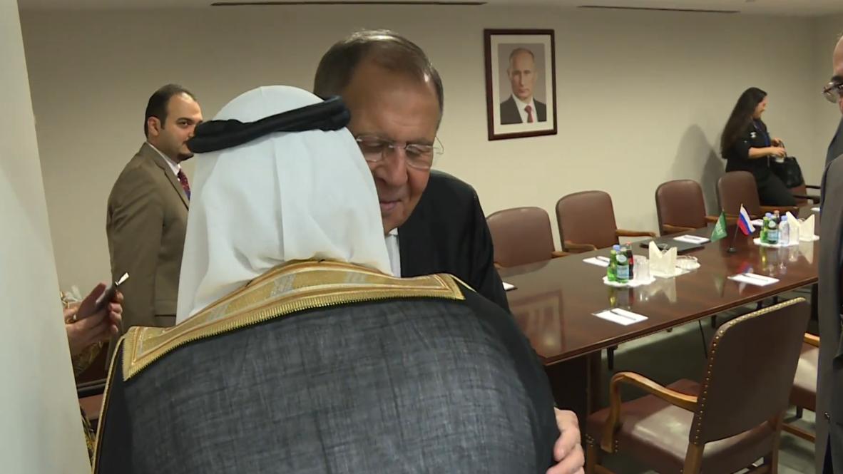 الأمم المتحدة: لافروف يلتقي نظيره السعودي في نيويورك
