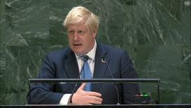UN: Johnson likens Brexit process to eternal torment of Prometheus