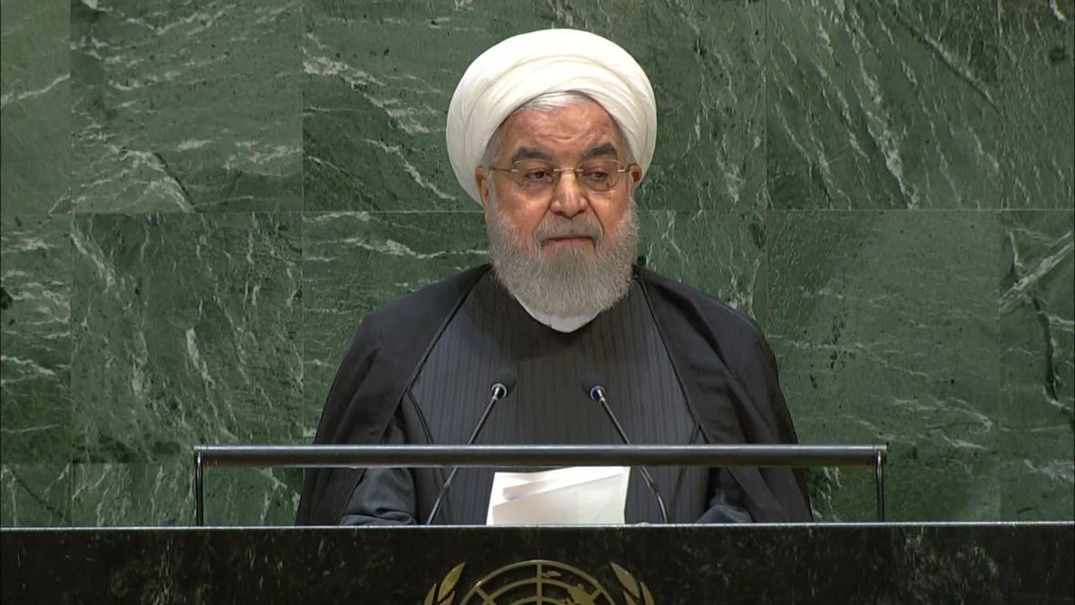 """ONU: Rohaní acusa a EE.UU. de """"terrorismo económico"""""""