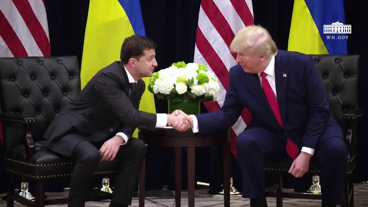 الأمم المتحدة: ترامب ينفي الادعاءات الموجهة له بالضغط على زيلينسكي