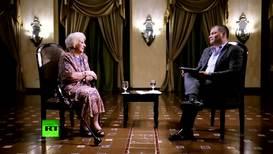 Presidenta de Abuelas de la Plaza de Mayo es entrevistada en 'Conversando con Correa' *CONTENIDO DE SOCIOS*