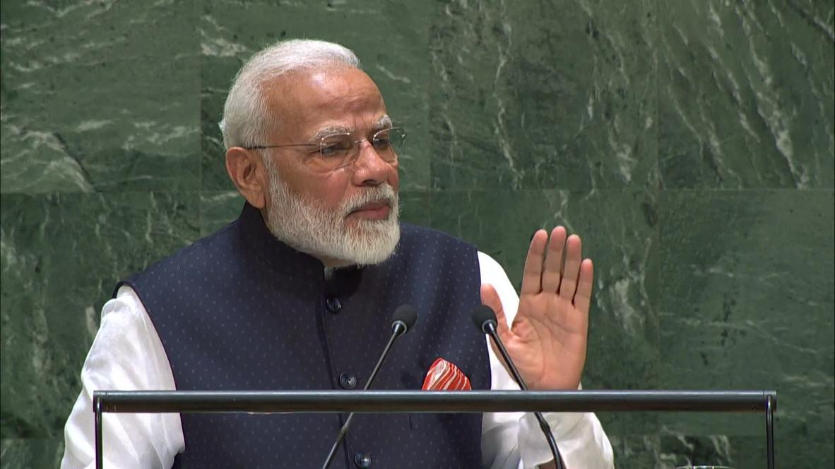 """ONU: India es una """"nación líder"""" en la lucha contra el cambio climático  - Modi en la AGNU"""