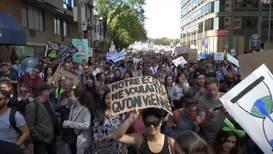 Canadá: Greta Thunberg lidera marcha que congrega a casi 500 mil personas en Montreal