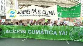 Argentina: Huelga climática llega a Buenos Aires y miles de personas salen a la calle para protestar
