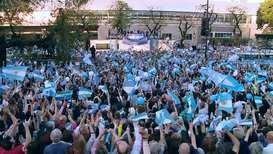 Argentina: Macri inicia su campaña electoral en Buenos Aires