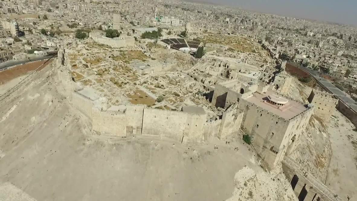 Сирия: Результат реставрационных работ в городе Алеппо на кадрах с дрона *ПАРТНЁРСКИЙ КОНТЕНТ*