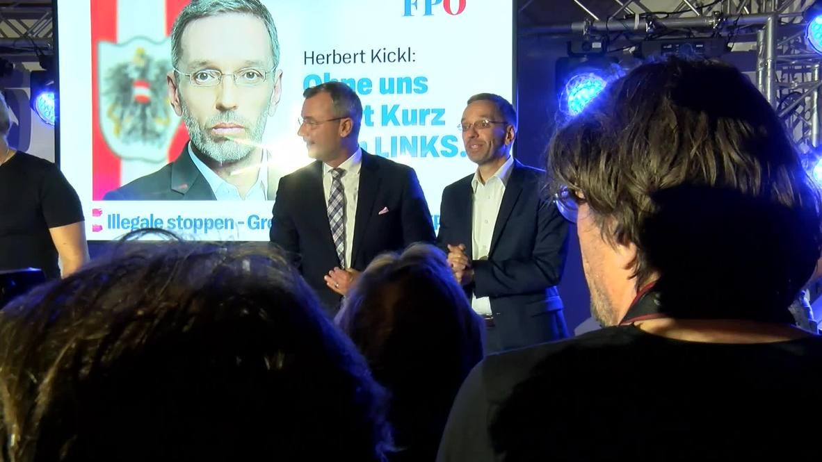 Austria: FPO's Hofer promises rebound after election setback