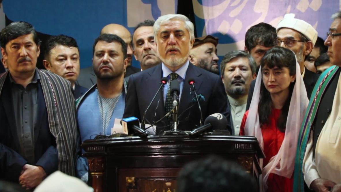 أفغانستان: عبد الله عبد الله يعلن فوزه في الانتخابات الرئاسية