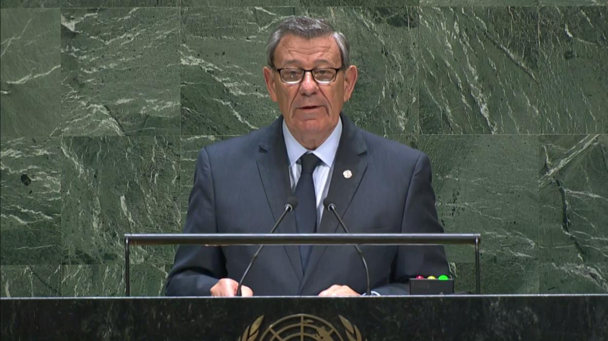 """ONU: Canciller de Uruguay enfatiza la necesidad del """"diálogo"""" y el """"entendimiento"""" en Venezuela"""