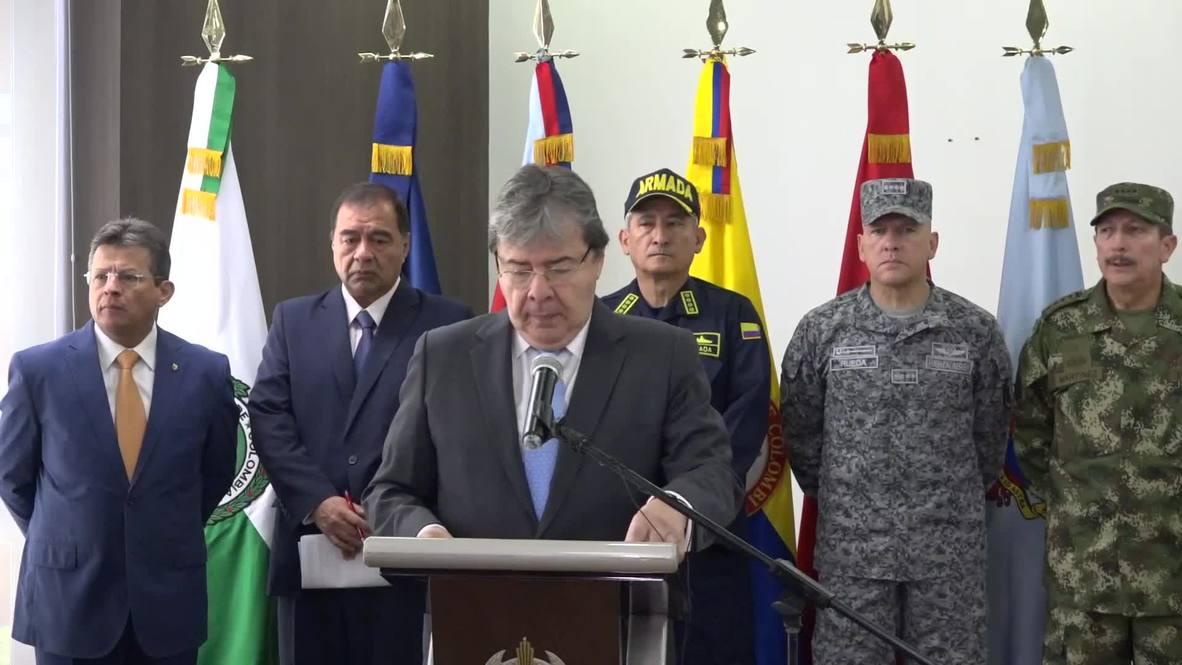 """Colombia: Trujillo denuncia presuntos vínculos de Maduro con grupos """"narcoterroristas"""""""