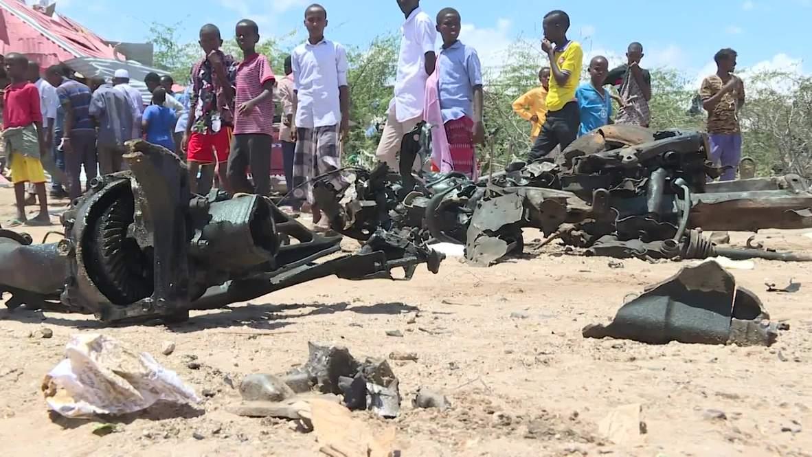 الصومال: تفجير يستهدف رتلا عسكريا لقوات إيطالية في العاصمة مقديشو