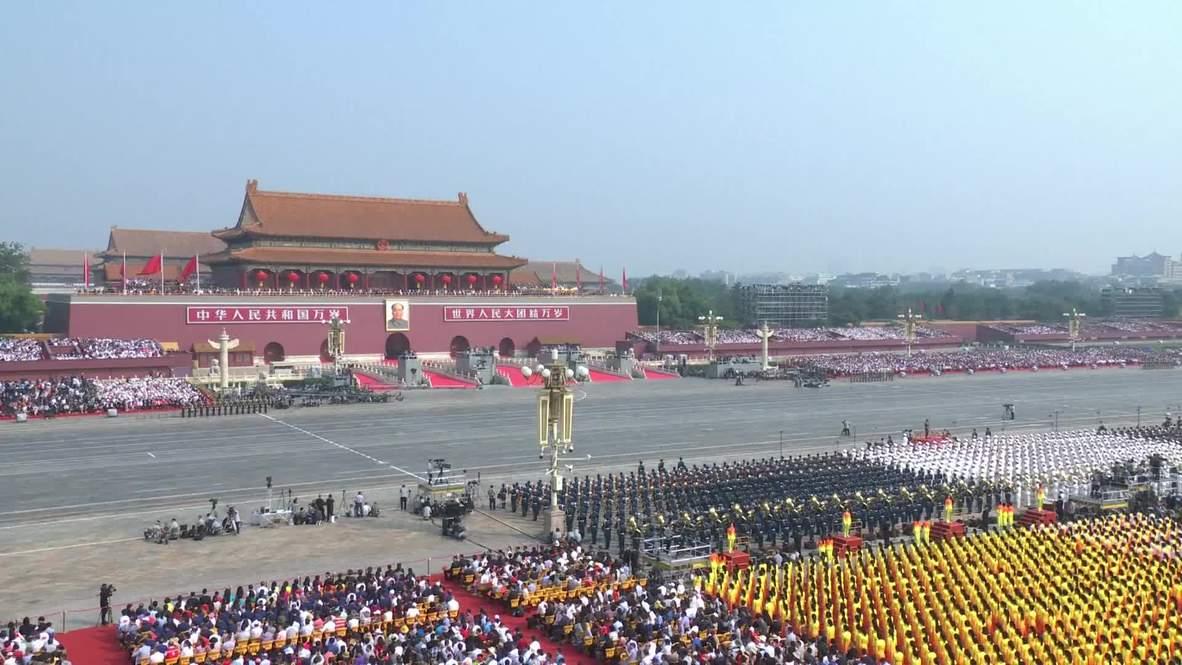 China: Desfile militar en Pekín marca el 70º aniversario de la República Popular China