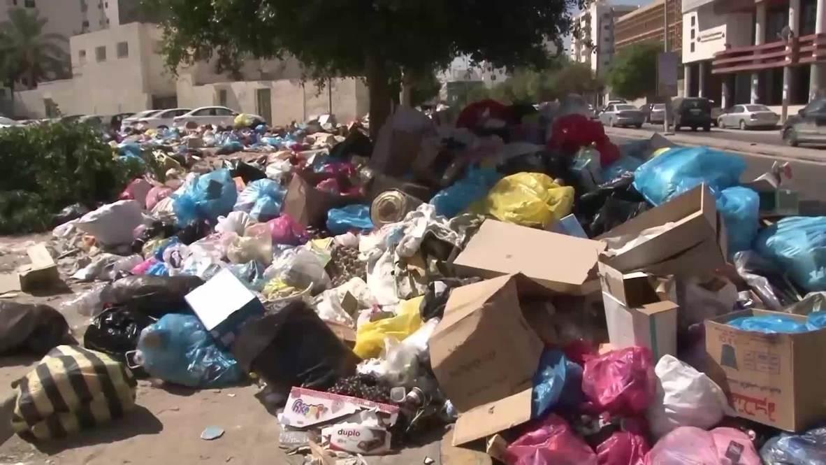 Libia: Trípoli sufre una crisis de gestión de residuos tras bombardeos en los vertederos locales