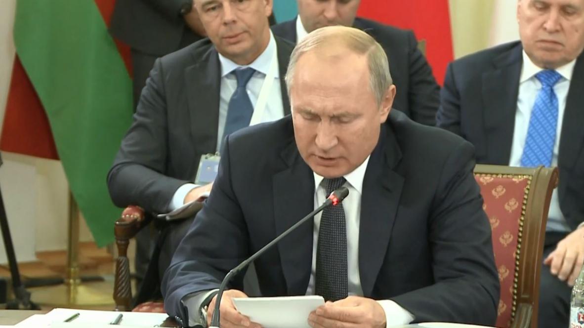 """Армения: """"Устранение барьеров в торговле"""", - Владимир Путин о задачах ЕАЭС"""