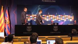 España: Conte arremete contra el árbitro Skomina tras la derrota ante el Barcelona