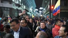 Ecuador: Multitudinaria movilización nacional contra el paquete de medidas de Lenín Moreno