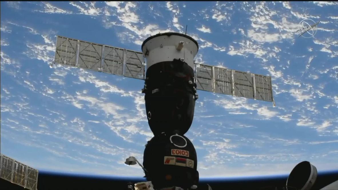 وكالة الفضاء الدولية: ثلاثة رواد فضاء يودعون المحطة الفضائية