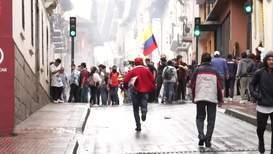 Ecuador: Protestas contra medidas económicas producen estado de excepción