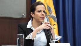 """Ecuador: Ministra del Interior advierte de que actuarán de acuerdo a la ley si continuan los """"actos vandálicos"""""""