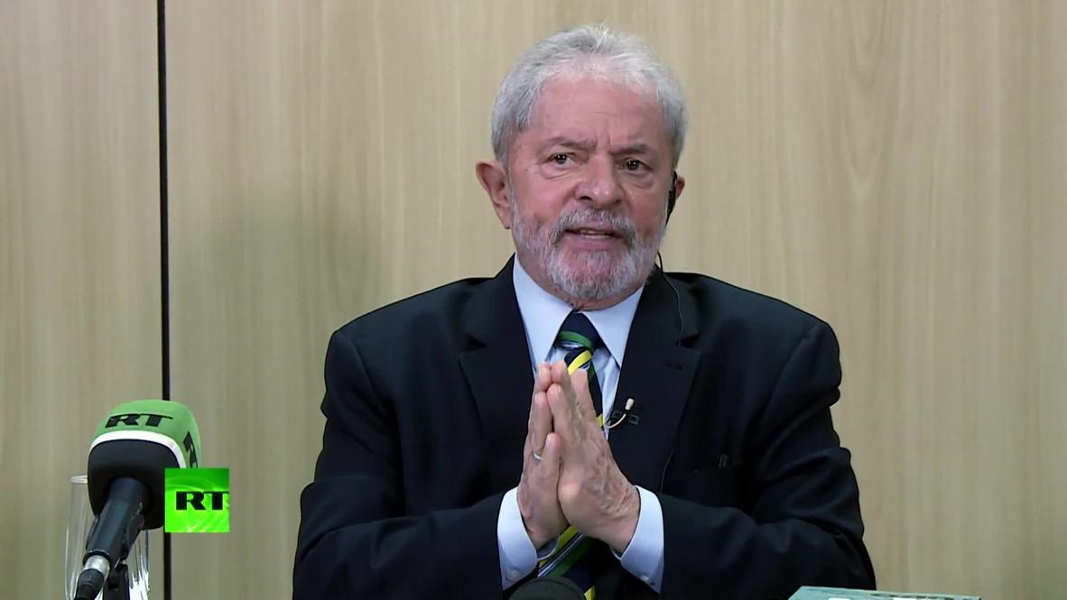 Brazil: Ex-president Lula slams 'Trump's madness' *PARTNER CONTENT*