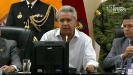 """Ecuador: Presidente Moreno insiste en el fin de los subsidios y dice que no negociará """"con delincuentes"""""""