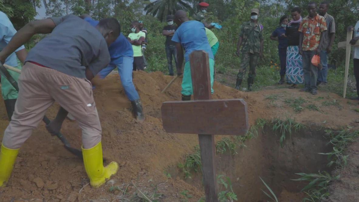 DRC: Ebola epidemic brings despair as WHO declares large outbreaks 'new normal'