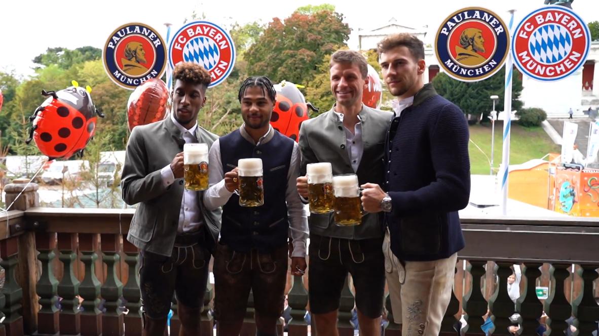 Germany: Bayern Munich drowns post-defeat sorrows at Oktoberfest