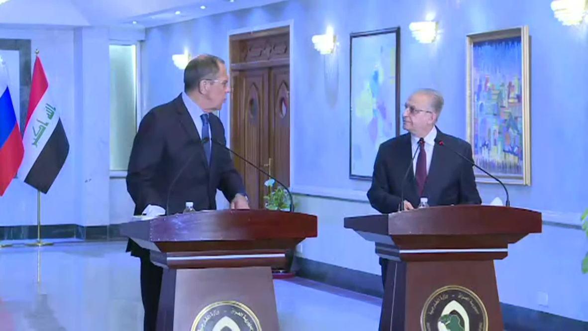 """Ирак: """"Всё идет по плану"""" - Лавров сообщил, что Россия будет поставлять военную продукцию Багдаду"""