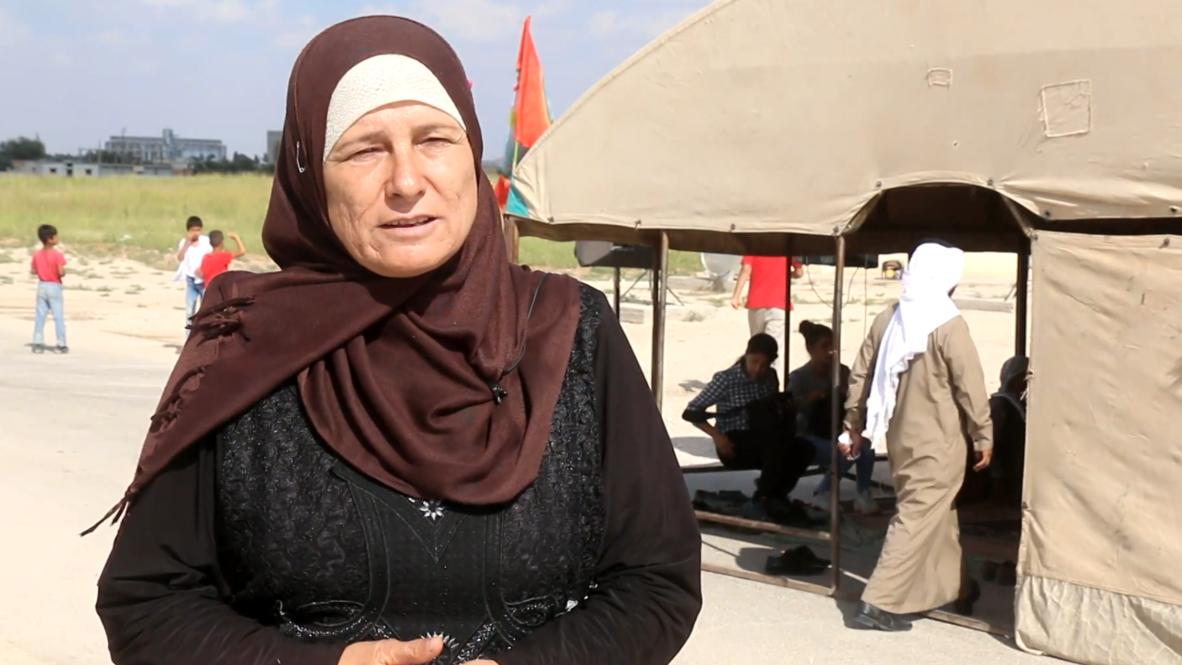 سوريا: أكراد يتظاهرون قرب قاعدة تل أبيض احتجاجا على الانسحاب الأمريكي