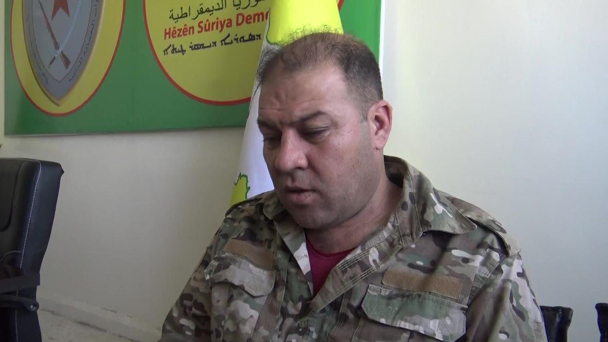 """Siria: Invasión turca es """"un apoyo directo al Estado Islámico"""" - Portavoz del SDF"""