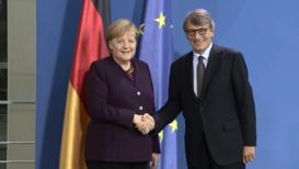 Germany: Merkel to discuss Brexit with EP President Sassoli