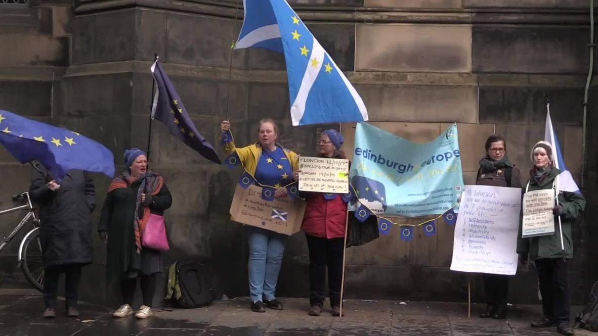 UK: Remainers optimistic despite Scottish court delays over Brexit extension letter