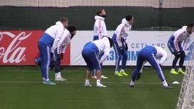 Россия: Навстречу Тартановой армии. Российская сборная провела тренировку перед матчем с Шотландией