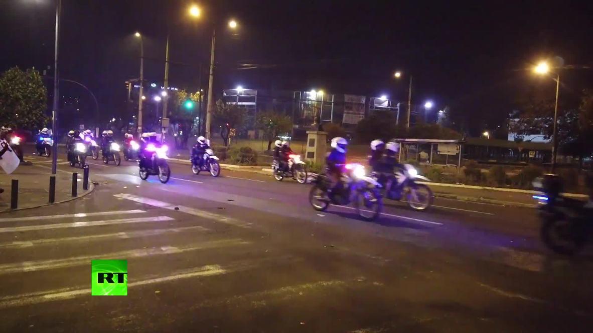 Ecuador: La policía agrede al equipo de RT durante las protestas en Quito *CONTENIDO DE SOCIOS*