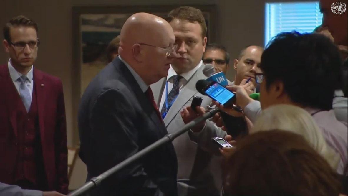 """الأمم المتحدة: السفير الروسي يحث جميع الأطراف """"التحلي بأقصى درجات ضبط النفس"""" في شمال سوريا"""