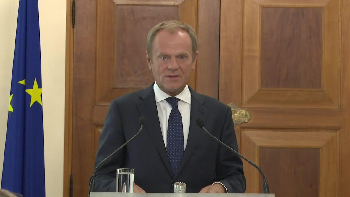 """قبرص: رئيس مجلس الاتحاد الأوروبي يندد بـ""""تهديدات أردوغان حول العمليات في سورية"""""""