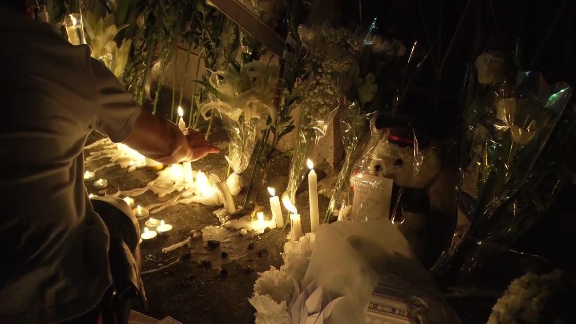 Hong Kong: Hundreds mourn death of 15yo student