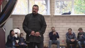 """Россия: """"Нет правил"""". Стивен Сигал провёл в Москве мастер-класс по айкидо"""
