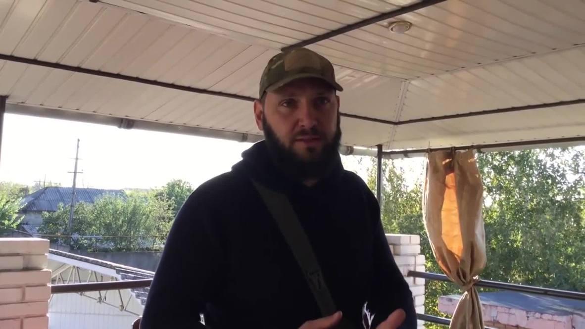 Украина: Представитель Национального корпуса заявил, что готов «сделать все» для продвижения войск к российской границе