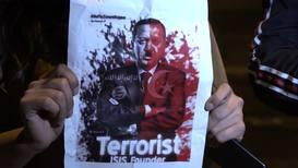 Greece: Pro-Kurdish demonstrators march to Turkish embassy in Athens