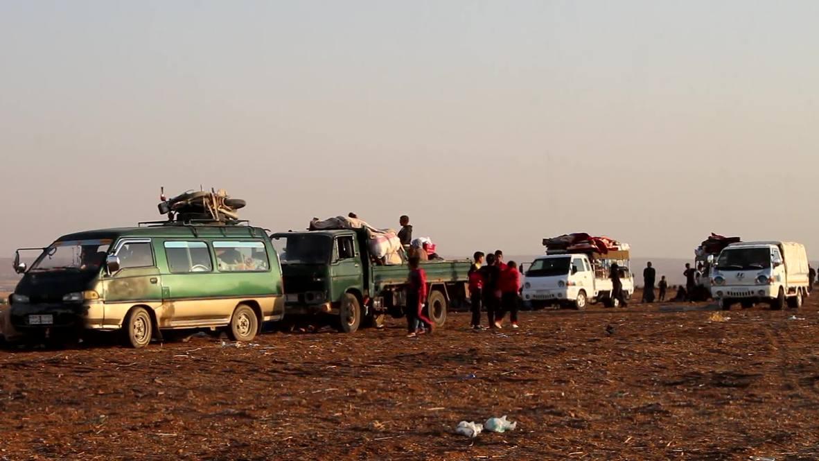 Siria: Civiles huyen de Kobane mientras el SDF y el SAA anuncian un acuerdo
